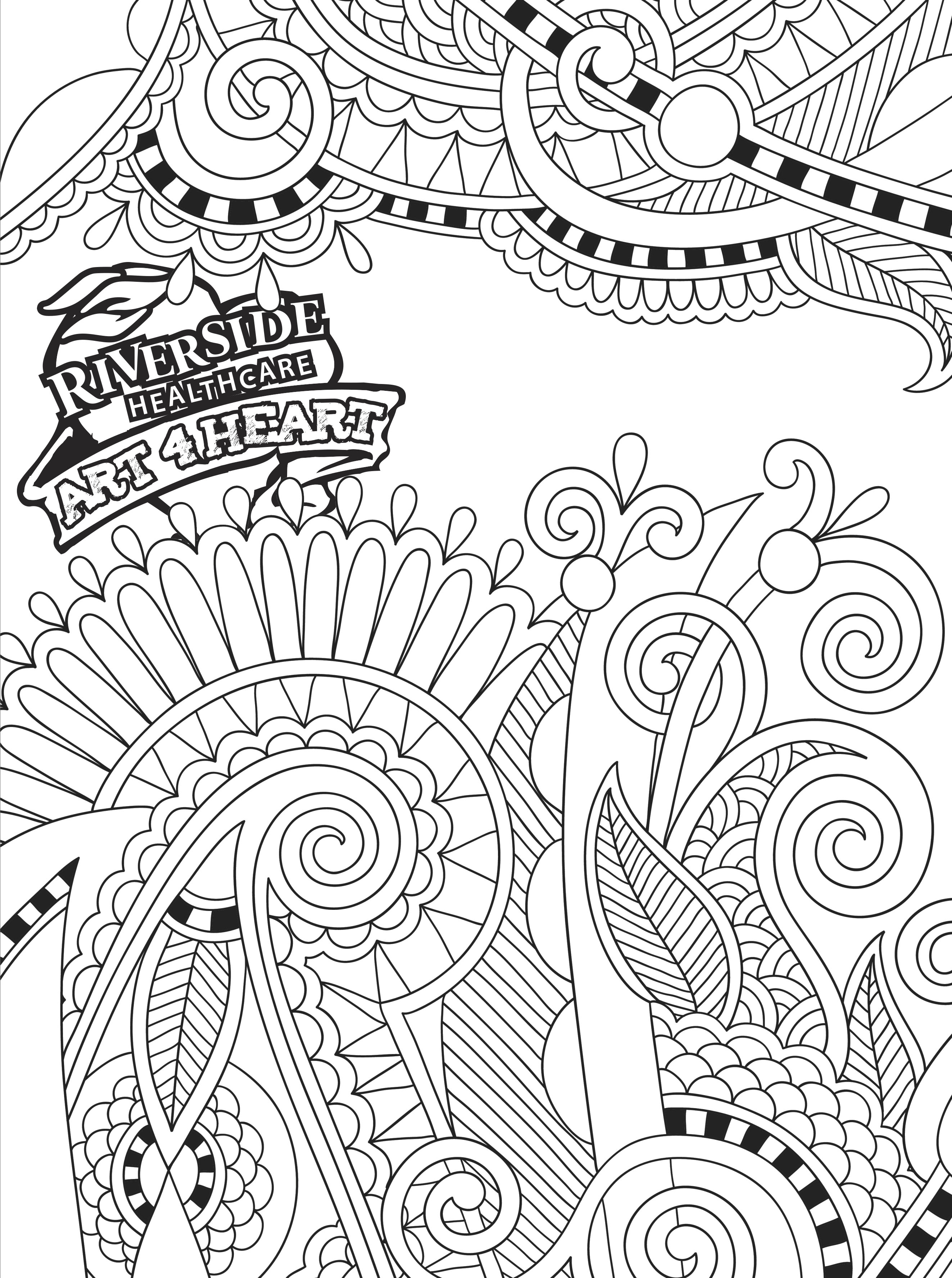 HealthCurrents » Printable Coloring Pages